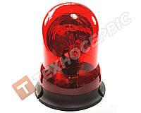 Маячок проблесковый красный 12 вольт со стробоскопом (мигалка) стационарное крепление Турция
