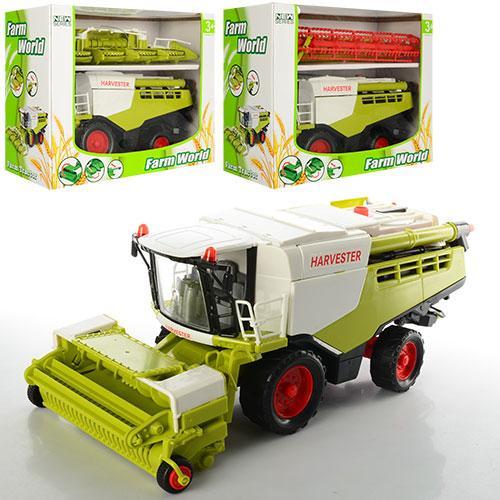 Детская игрушка комбайн 8889A-1-2-3 инерционная 31 см