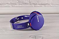 Беспроводные Накладные Bluetooth наушники Sony MDR-XB950BT ( Беспроводные наушники Сони 950), фото 8
