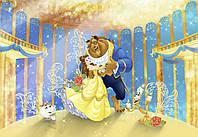 """Фотообои 368х254см, KOMAR DISNEI """"Beauty and the Beast"""" (8-4022)"""