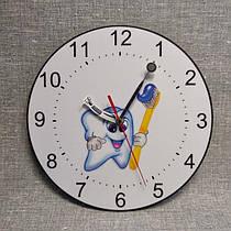Часы настенные для стоматологии. Уникальные стрелки
