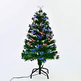 Новогодняя Ёлка 60 см с Led подсветкой 55 веток, фото 2