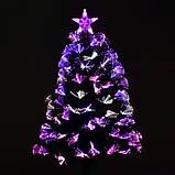 Новогодняя Ёлка 60 см с Led подсветкой 55 веток, фото 6