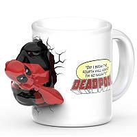 3D Чашка Дедпул (Deadpool)