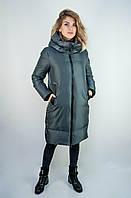 Зимняя женская куртка Lusskiri. Серый цвет.