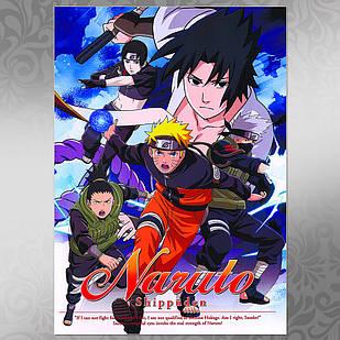 Плакат Аниме Naruto 009