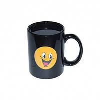 Чашка хамелеон Смайлик Радость, фото 1