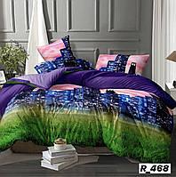 Красивое постельное бельё Ранфорс Мегаполис (1,5 сп)