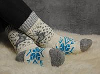 Женские носки, тёплые носки, вязанные носки, ангоровые носки, фото 1
