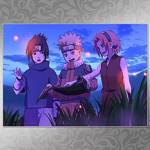 Плакат Аниме Naruto 051
