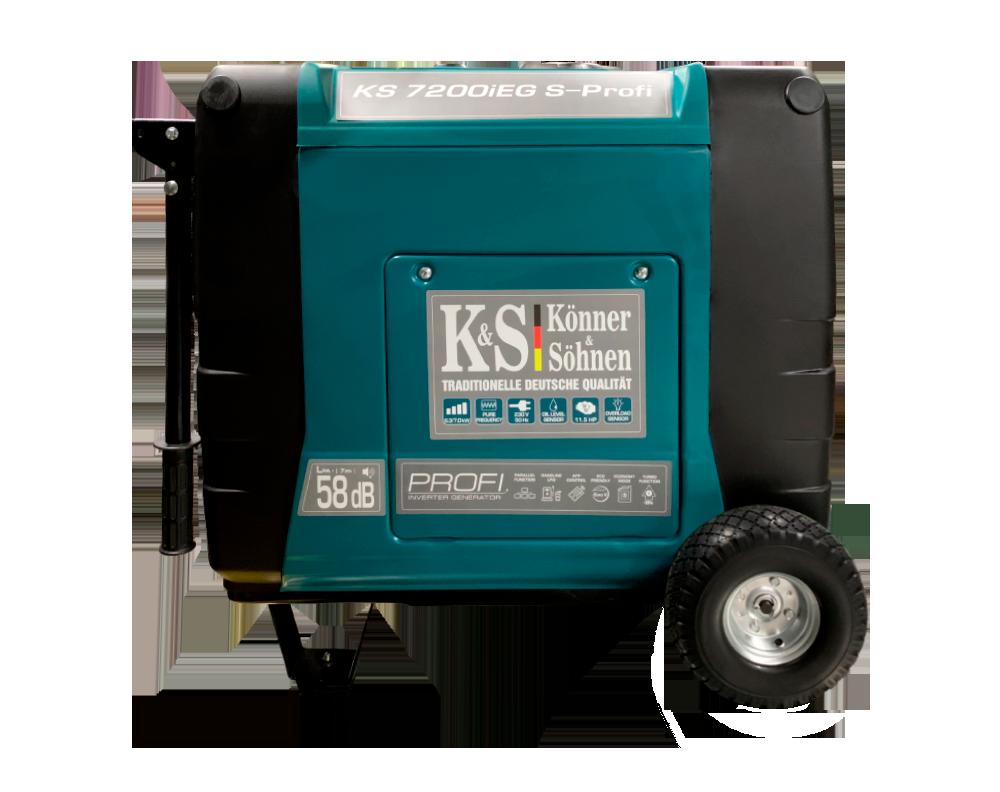 Генератор инверторный Konner&Sohnen KS 7200iEG S-PROFI