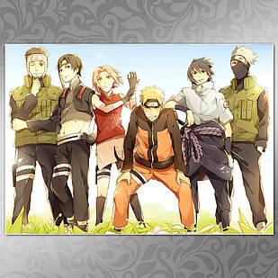 Плакат Аниме Naruto 057