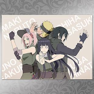 Плакат Аниме Naruto 060