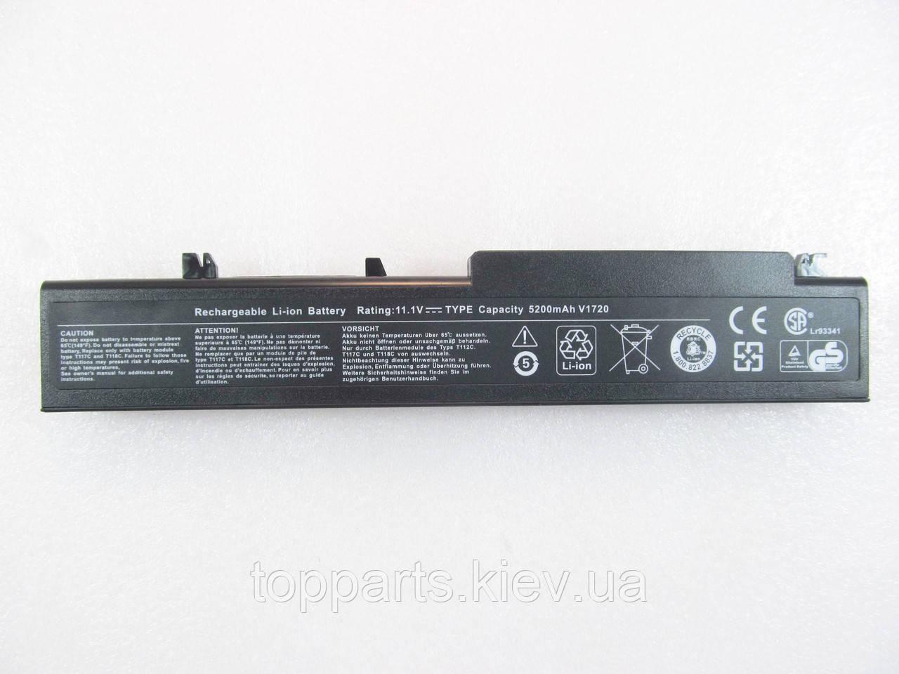 Dell Vostro 1710 T118C, 5200mAh, 6cell, 11.1V, Li-ion, черная, УЦЕНКА