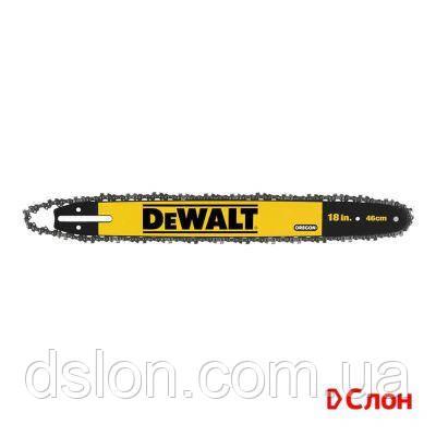Шина DeWALT DT20661, 3/8', 1.1 мм, длина шины 18'/46 см