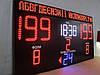 Спортивное табло для баскетбола с отображением счета игры, периода, времени и фола, название команд, фото 8