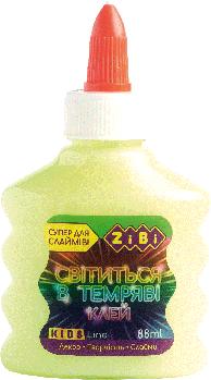 Клей Zibi СВЕТЛЯЧОК (для слаймов) желтый, 88 мл