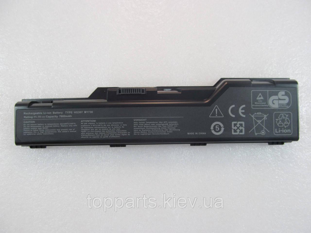 Батарея для ноутбука Dell XPS M1730 HG307, 7800mAh, 9cell, 11.1V, Li-i