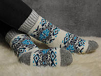 Женские носки, тёплые носки, вязанные носки, ангоровые носки, розмер 37-39, фото 1