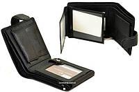 Кожаный мужской бумажник. Мужской кошелек натуральная кожа. Бумажник оригинал. СК02, фото 1