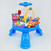 Игровой набор Kids Toys Доктор с пупсом Голубой (1-57346)
