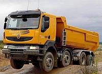 Лобовое стекло Renault Kerax, триплекс