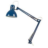 ТЕРЦИАЛ Лампа настольная, синий, 80447209, IKEA, ИКЕА, TERTIAL