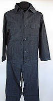 Костюм джинсовый (штаны + курточка). Рабочая спецодежда.