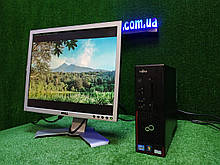 """ПК +монитор 19"""", i3-3220 3.3, 4 ГБ, 500 Гб, 2xCOM, 10 USB, USB 3.0 Настроен. Германия!"""