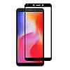 Стекло Full Glue 5D Xiaomi Redmi 6A, Black (техпак)