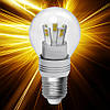 Светодиодная лампа ELECTRUM D45 5W E27 2700 AL LB-30 Rf