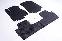 К/с Honda CR-V 2012-2017 / черные кт - 4шт коврики салона в салон на Honda CR-V Хонда СРВ