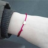 """Браслет с красной нитью """"Red thread"""", разные виды, фото 8"""