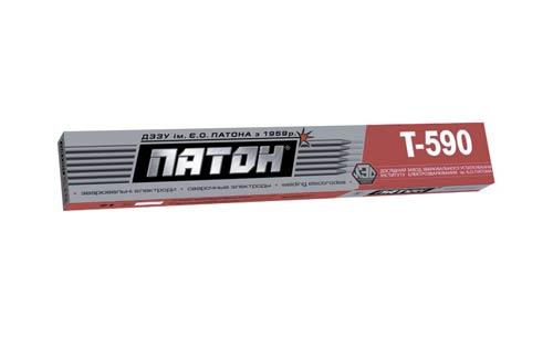 Т-590 Патон D-5мм Электроды сварочные (5кг) для наплавки деталей склонных к абразивному износу