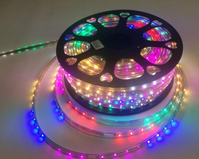 Світлодіодна стрічка Premium SL-12RGBWYP SMD 2835/48 220V 2Pin IP65 (1м) Код.59714