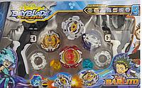 "Игровой набор ""БейБлейд (BeyBlade)"" (AP01IN151) Луинор, Геркулес, Феникс и Леопард"