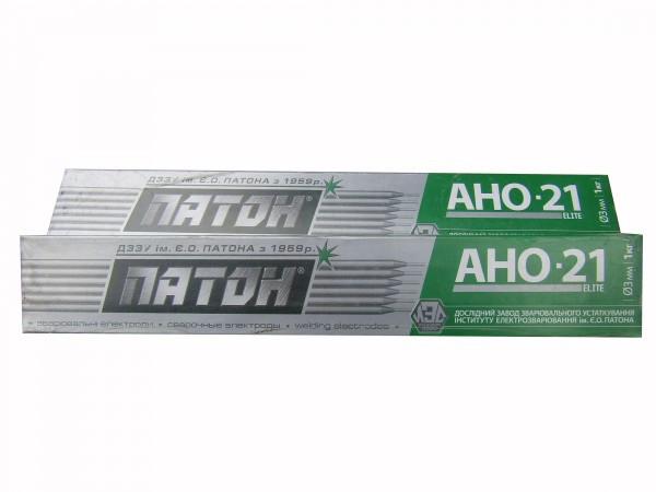 АНО-21 D-3мм(ПАТОН ELITЕ) Электроды сварочные (упак. 1кг)
