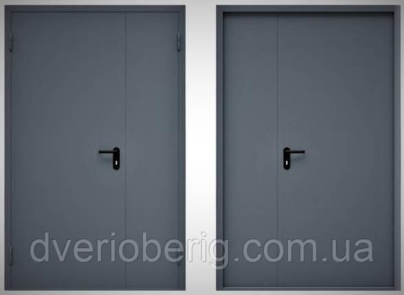 Двостулкові протипожежні двері, фото 2