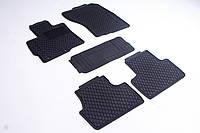 К/с Mitsubishi Outlander 2012-черные кт 5шт коврики салона в салон на Mitsubishi Outlander Митсубиси Аутлендер