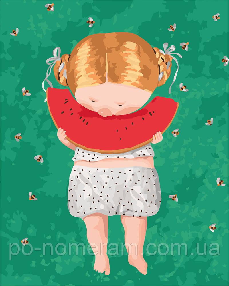 Набор для рисования Идейка Арбузик Гапчинская (KNG036) 40 х 50 см