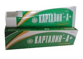 """БАД """"Крем Карталин-А+"""" -псоріаз,екзема,нейродерміт, дерматит (100мл.,Росія)"""