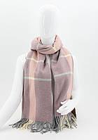 ШАРФ женский M&JJ БОСТОН Розовый-Пудра 180х70 см (8551)