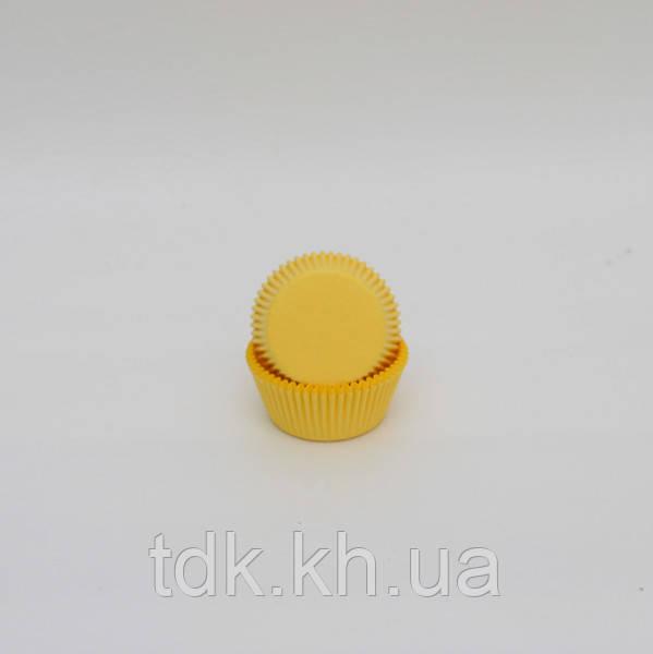 Тарталетка Желтая 50/30 50шт