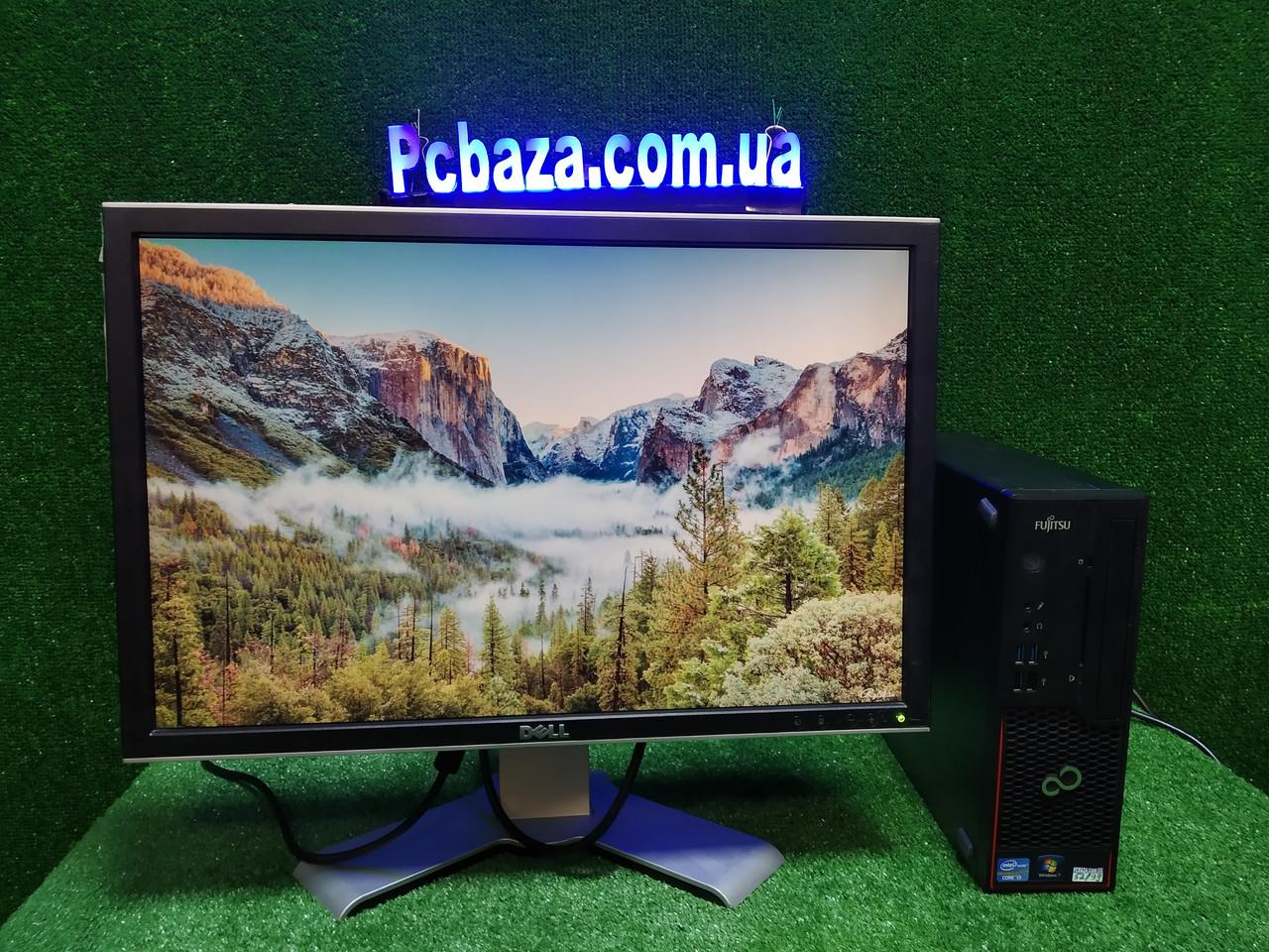 """ПК +монитор 22"""", i3-3220 3.3, 4 ГБ, 500 Гб, 2xCOM, 10 USB, USB 3.0 Настроен. Германия!"""