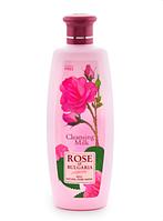 Очищающее молочко для лица Rose of Bulgaria Biofresh 330 мл,натуральная косметика.