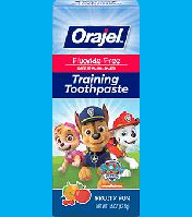 Детская зубная паста Orajel, Paw Patrol, , без фтора