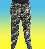Військові штани (штани) темний піксель зимові утеплені.