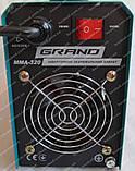 Зварювальний апарат Grand ММА-320 (дисплей), фото 7