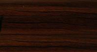 Плинтус с кабель  каналом и мягким краем. BS11 Венге, фото 1
