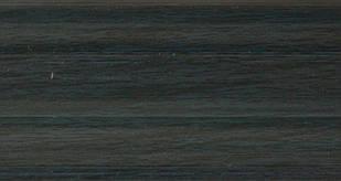 Плинтус с кабель  каналом и мягким краем BS16 Синий